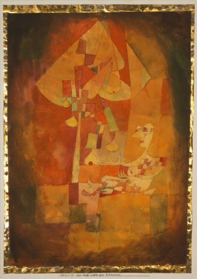 Klee, Paul: The Man Under the Pear Tree. Fine Art Print/Poster (4989)